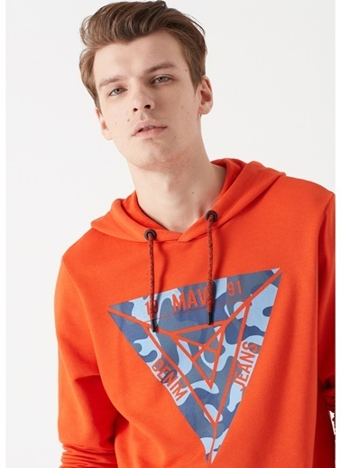 Mavi Sweatshirt Oranj
